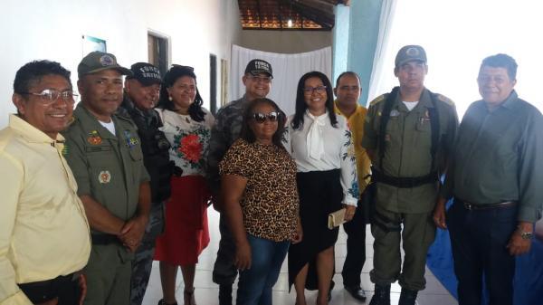 Colônia do Gurguéia ganha companhia de policiamento no seu 27º aniversário de emancipação