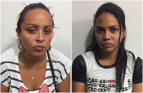 Mulheres presas transportavam drogas para o interior do estado