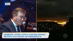Vídeo. Avião com Amado Batista faz pouso de emergência na Bahia
