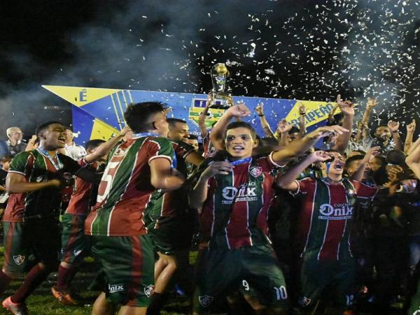 Fluminense-Pi é campeão sub-19 2019