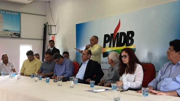 Marcelo Castro anuncia filiação de Dr. Pessoa ao MDB