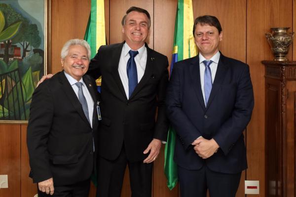 Elmano consegue com Bolsonaro garantias de duplificação de BR's