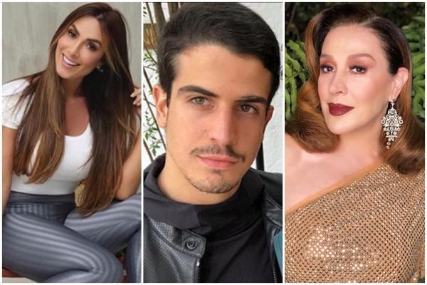 Claudia Raia confessa que fez filho terminar namoro com Nicole Bahls