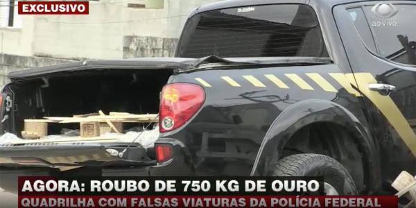 ASSALTO - Quadrilha rouba carga de ouro em aeroporto de Cumbica
