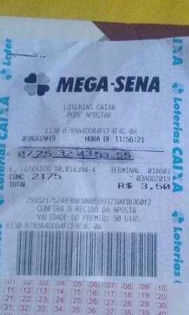 Jovem de 19 anos faz falsificação em bilhete da Mega Sena e tenta retirar prêmio em MT