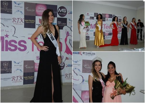 Esther Campos é eleita Miss Teen Bom Jesus 2019