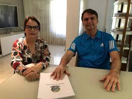Ministra da Agricultura Tereza Cristina,afirma que vai lançar programa de habitação rural