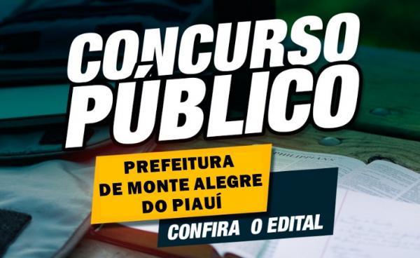 Monte Alegre do PI abre concurso público